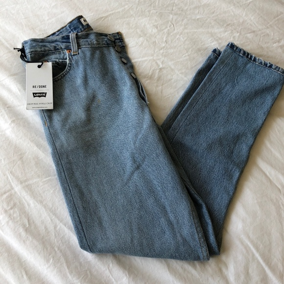 f45639b56b57c Levi s x RE DONE high rise ankle crop jeans